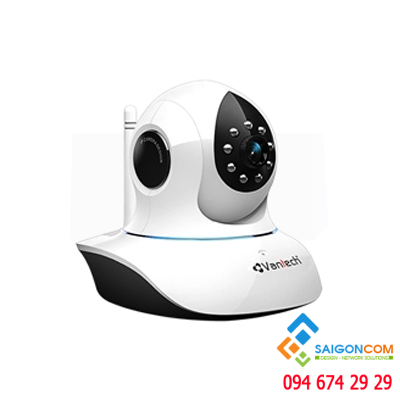 Camera IP 1.0mp  Wifi Vantech VT-6300A
