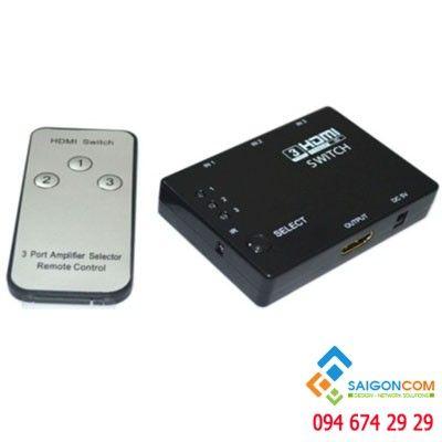 Bộ chuyển mạch HDMI 3 vào - 1 ra ( Bộ chia )
