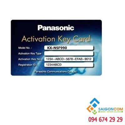 Phần mềm Activation key KX-NSE201  mở rộng 4 kênh dùng cho KX-NS0154