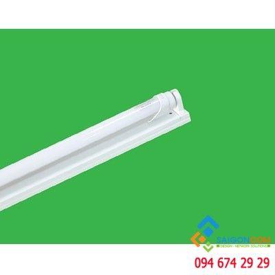 Bộ máng đèn led tube T8 siêu mỏng 1x10W- nhôm, bao gồm bóng MPE