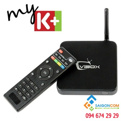 VIBOX V5 - Android TV BOX tầm trung 2GB Ram
