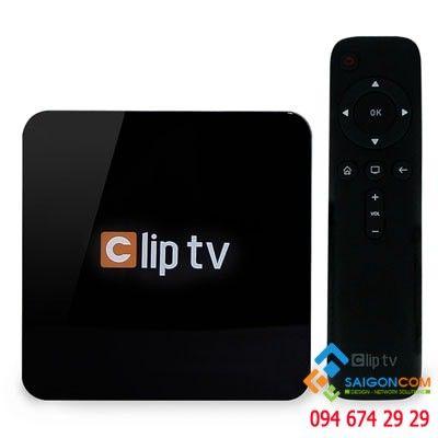 Hộp truyền hình Internet - CLIP TV BOX 1GB/8GB