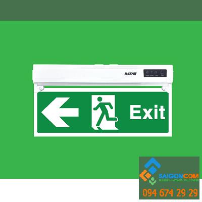 Đèn led Exit thoát hiểm 1 mặt trái