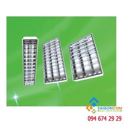 Máng đèn xương cá âm trần 3 bóng MPE- 6500k-1215x605x83mm - có bón