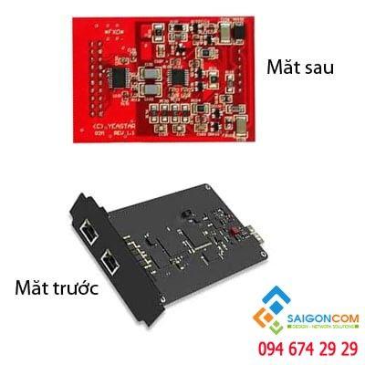 Module hỗ trợ 2 port FXO đến 2 line bưu điện