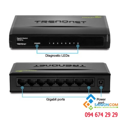 Switch 24 Port Gigabit GREENnet