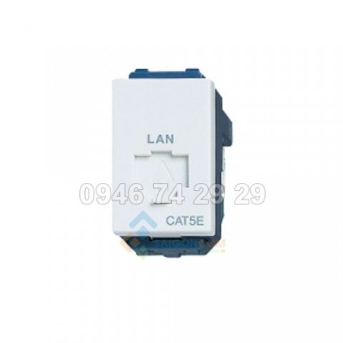 Ổ Cắm mạng LAN  nhân mạng RJ45 - CAT5- Panasonic WEG2488 / WEG2488SW