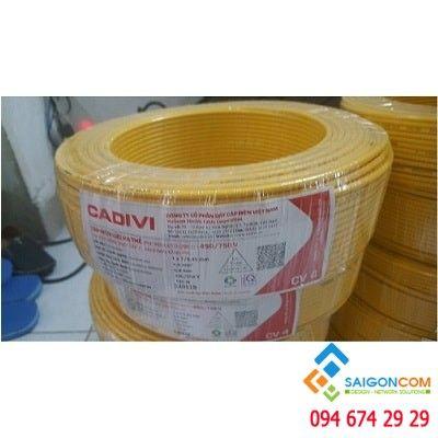Dây cáp điện đôi CADIVI 1x4 - 0.6/1KV