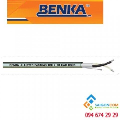 Cáp chống cháy Benka  1x2x16 AWG  300/500V