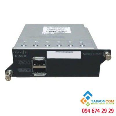 Thiết bị tăng băng thông Cisco C2960X-STACK