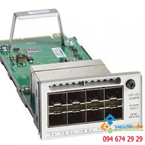 Cisco Catalyst 3850 8 Port 10GE Network Module