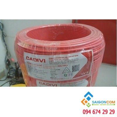 Dây cáp điện CADIVI 10 (Đen, đỏ)