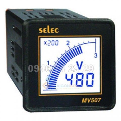 Đồng hồ đo điện áp VIPS 69VAC-500V - 96x96 - Veritek India