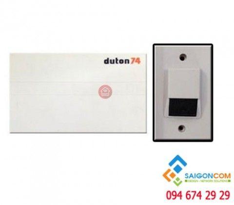 Bộ chuông cửa Duton 74 gồm 1 chuông báo  và 1 nút nhấn