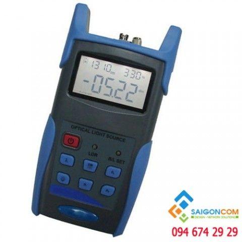 Máy đo công suất quang kèm bút soi 10km