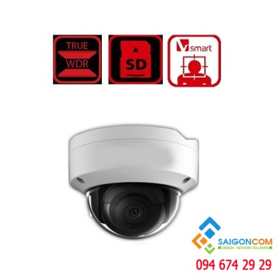 Camera IP 8.0 Mp hồng ngoại HDS-2183IRA