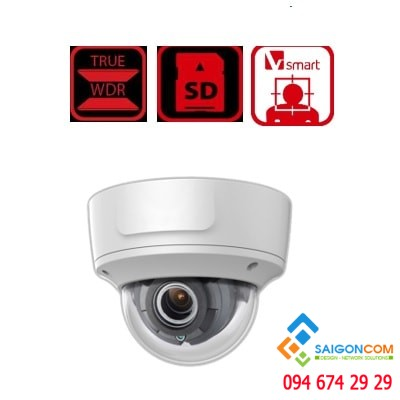 Camera IP 4.0 Mp hồng ngoại HDS-2743IRZ3
