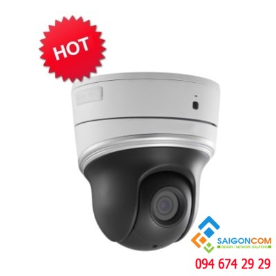 Camera IP 2 MP speed dome hồng ngoại mini HDS-PT5204IR-A