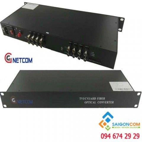 Bộ chuyển đổi quang video 16 kênh 720P/960P/1080P cho camera AHD/CVI/TVI