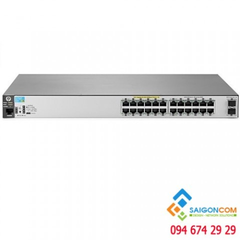 Switch HP 2530 24G PoE+ 2SFP + Switch J9854A