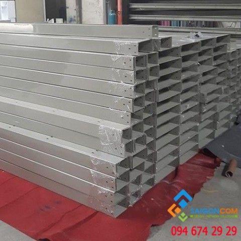Máng cáp sơn tĩnh điện 100x100mm dày 1.2mm