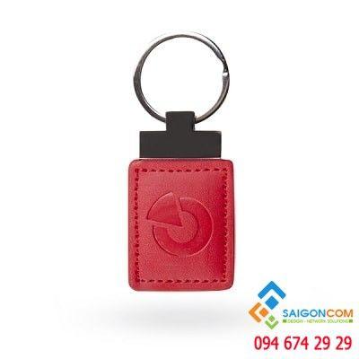 Móc khóa da thẻ RFID JA-194J-RE