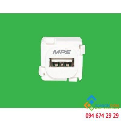 Ổ cắm điện USB âm tường MPE Seri A30