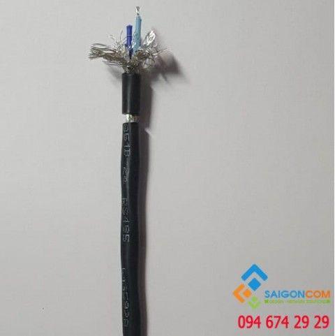 Cáp Hosiwell tín hiệu RS 485 - 1Px 24 AWG vặn xoắn chống nhiễu