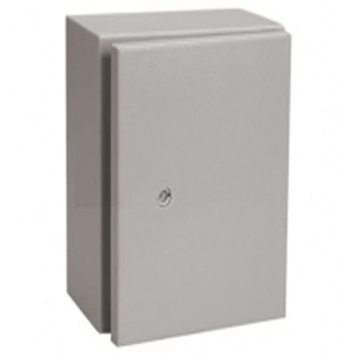 Tủ điện dùng trong nhà  400W x 600H x 210D x 1mm, một lớp cánh