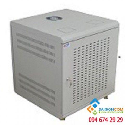 """Tủ mạng 19"""" 15U sâu 800 - H860xD800xW600mm có ổ cắm"""