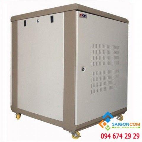 """Tủ Comrack 15U19""""  D1000 - H860xD1000xW600mm dùng trong nhà, day 1.2mm"""