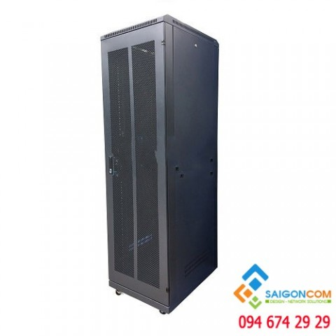 Tủ rack 42U D1100 (H2100xW800mmxD1100) - 1.2mm