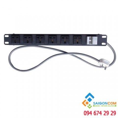 Ổ điện 6 port có CB