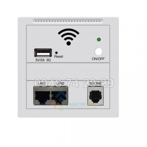 Bộ phát wifi Tengda - ổ cắm mạng - ổ sạc USB âm tường