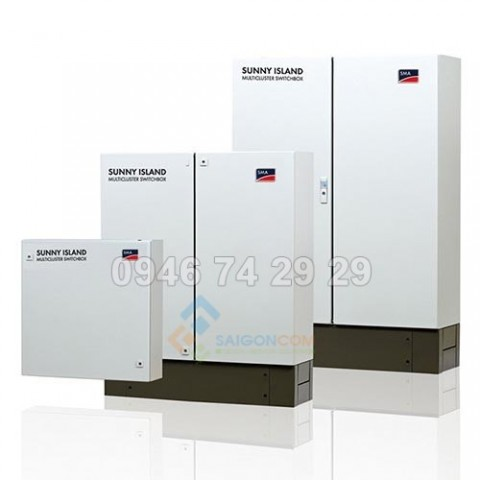 Tủ chuyển mạch pin mặt trời và chống sét Sma Multicluster Box 12