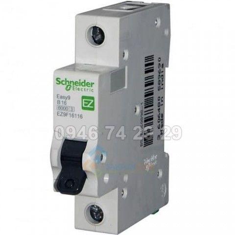 MCB 1P 6A   4.5kA EZ9F34106 Schneider