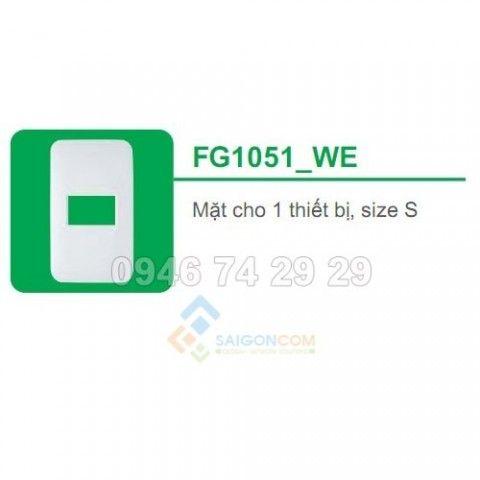 Mặt cho 1 thiết bị size S FG1051_WE