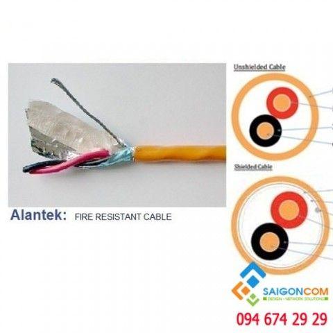Cáp điều khiển Alantek 1-Pair 18AWG LSZH chống cháy cuộn 500m