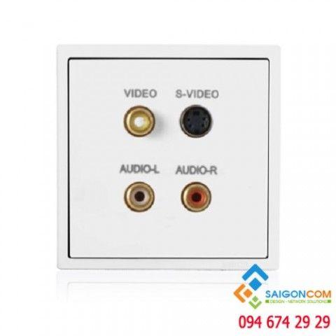 Bộ ổ cắm AV-S 60493-30 Simon