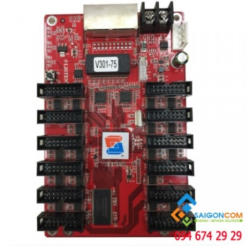 Card  điều khiển nhận  led Module V301- dùng màn hình led P5