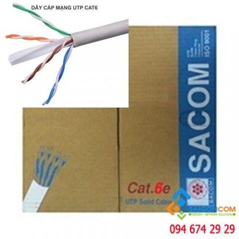 Cáp mạng cat6 -UTP Sacom