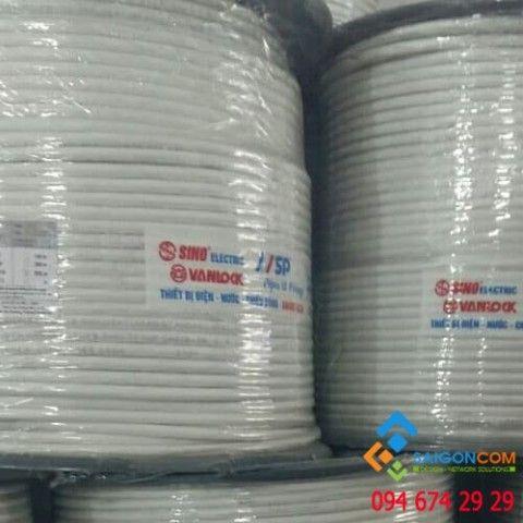 Cáp đồng trục Sino-Vanlock RG6 loại thường