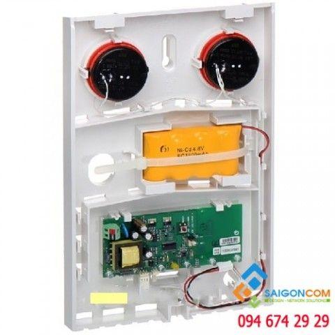 Còi báo động ngoài trời có dây và pin nuôi nguồn JA-151A-BASE-RB
