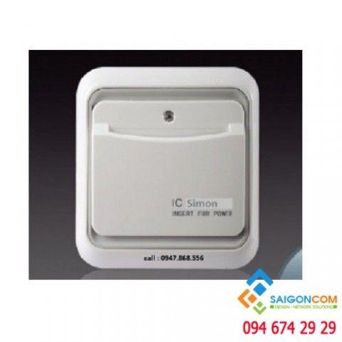 Công tắc thẻ RFID 60E601 Simon