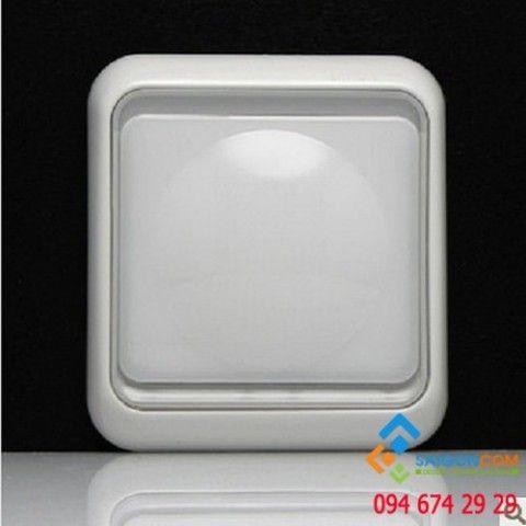 Đèn báo LED màu trắng ,2W 60802LED-50 Simon