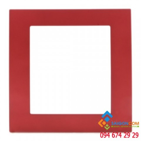 Khung cho ồ cắm, màu đỏ marron V59002-54 Simon