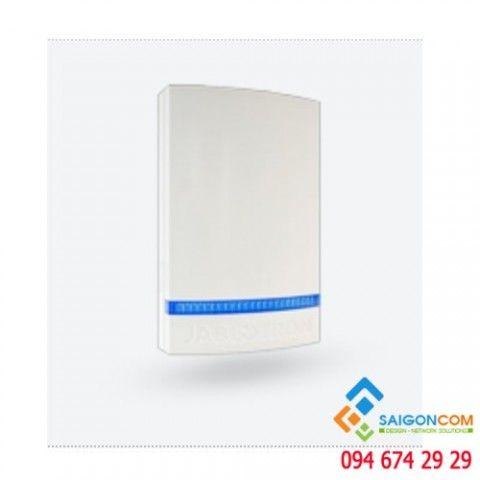 Nắp nhựa bảo vệ cho còi báo động - vỏ trắng - đèn led xanh JA-1X1A-C-WH-B