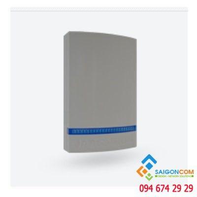 Nắp nhựa bảo vệ cho còi báo động - vỏ xám - đèn led xanh JA-1X1A-C-GR-B