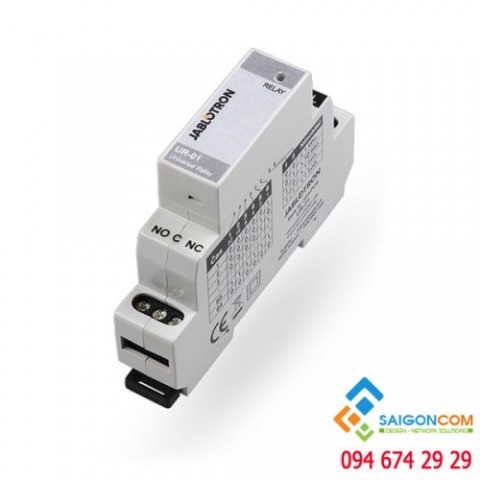 Rơ le điện DIN-rail UR-01