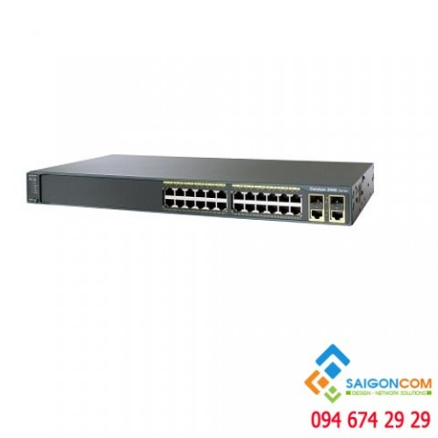 Switch CISCO 24 Port Catalyst 2960 WS-C2960-24TC-L